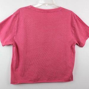 PINK Victoria's Secret Tops - 💘 Pink Victoria's Secret Tee Shirt Cropped